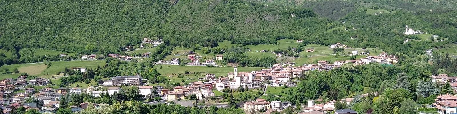 Veduta del paese di Sovere - Ph Michele Lotta